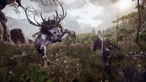The First Gameplay Footage Of Witcher 3