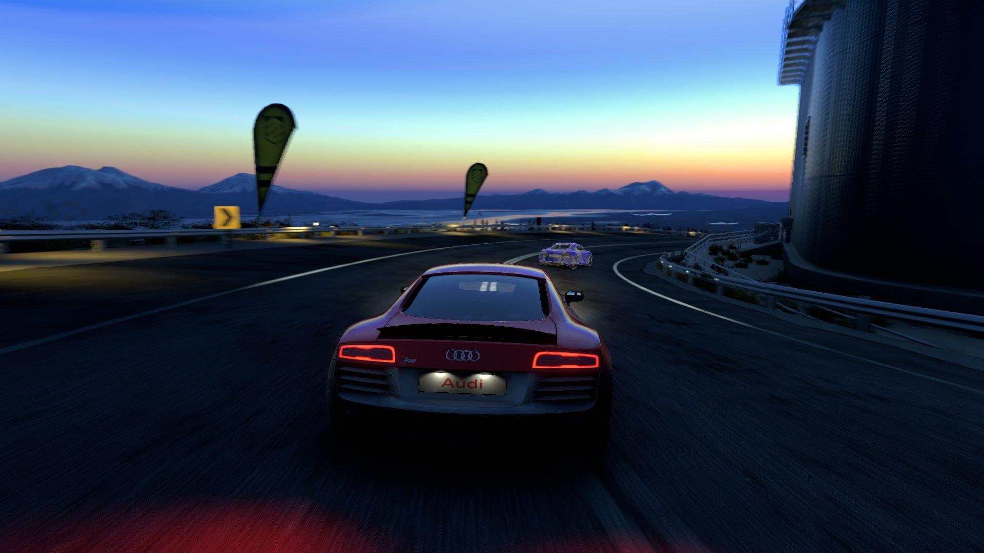 Blur Car Game