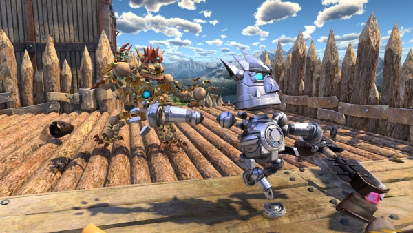 Knack Co Op Screens First look at Knack's two player local co op mode