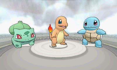 Pokemon x and y choose bulbasaur charmander or squirtle - Evolution tiplouf ...