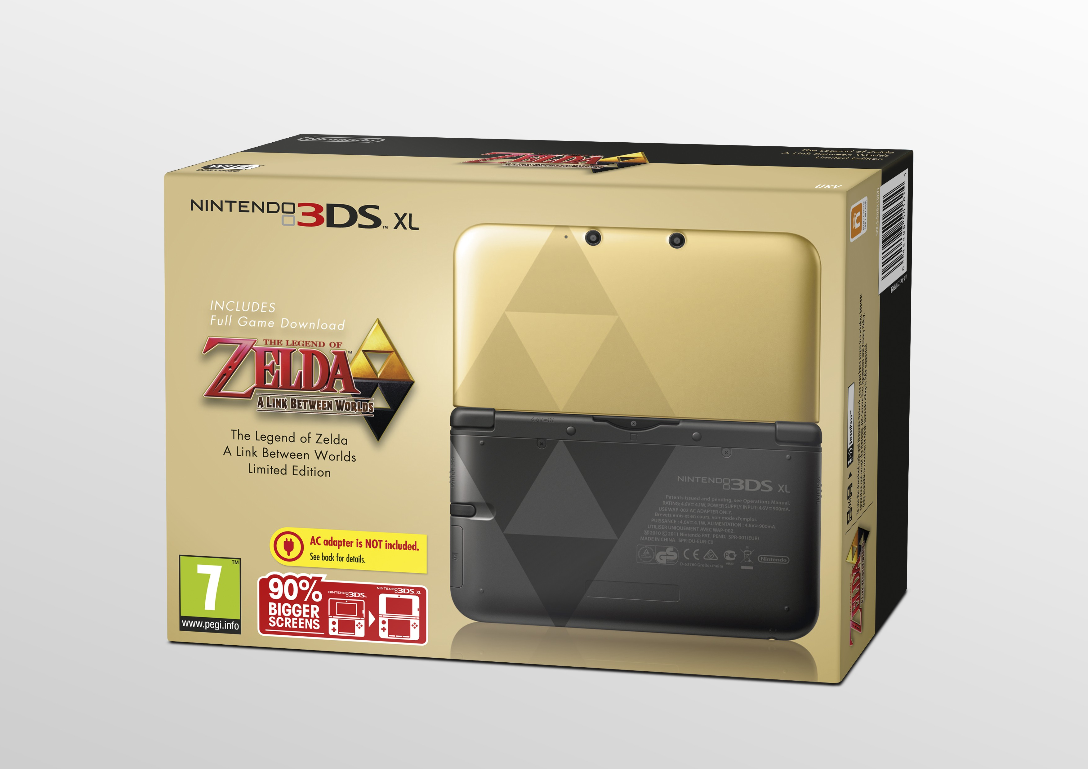 New Ds Xl Zelda Design
