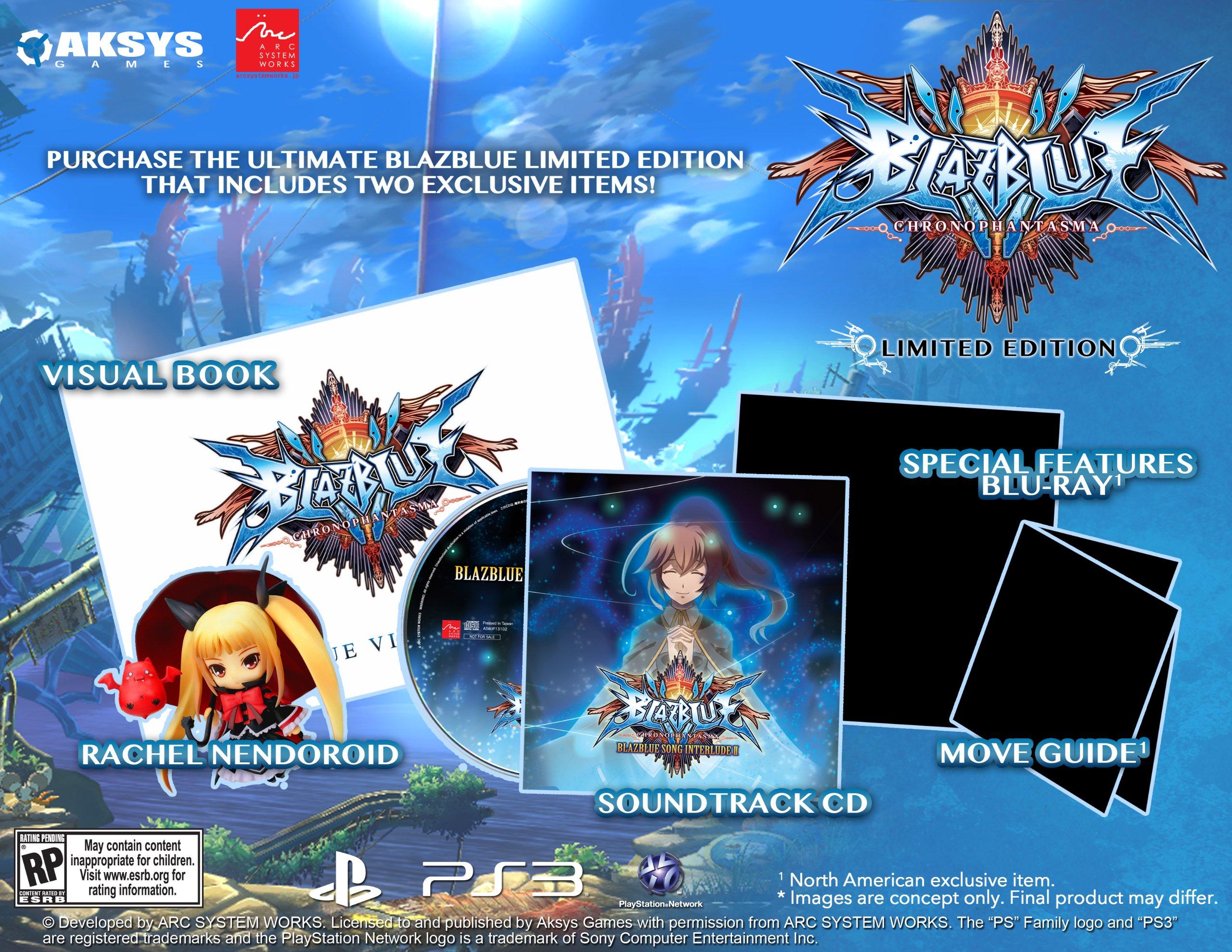 BlazBlue: Chrono Phantasma release date announced - Gematsu