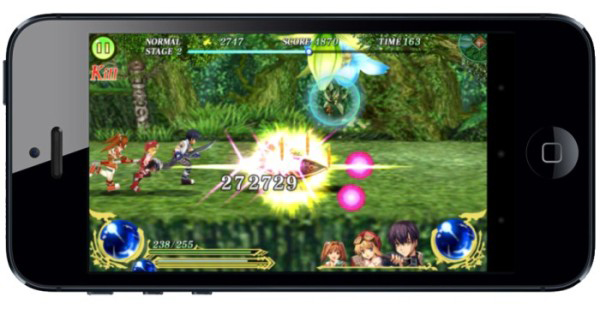 The Legend of Heroes Social Game for Smartphones