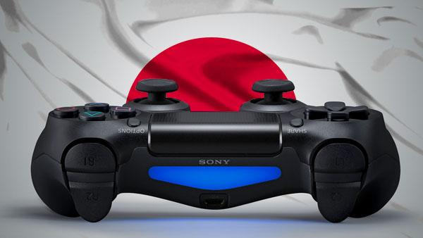 PlayStation 4 DualShock 4 Japan