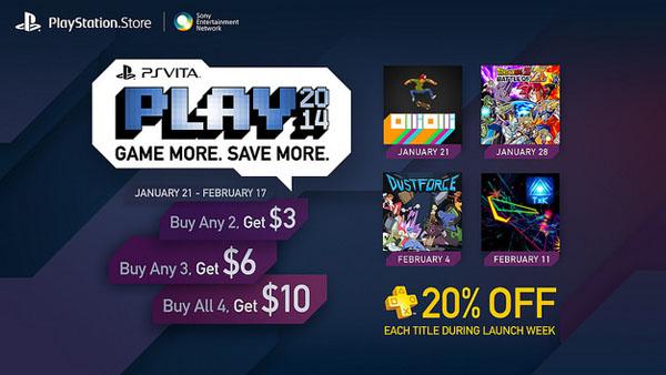 PS Vita PLAY 2014