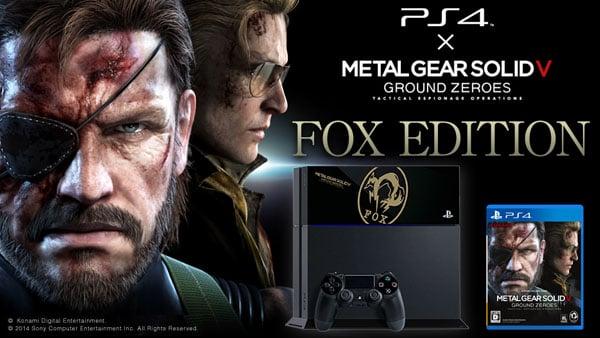 "Metal Gear Solid V: Ground Zeroes ""Fox Edition"" PlayStation 4"