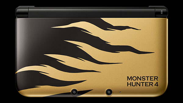 Monster Hunter 4 Rajang Gold 3DS XL