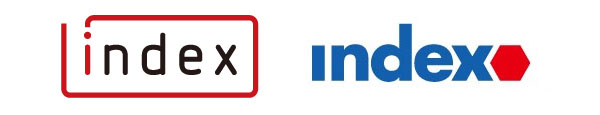 Index Logo (New on the Left, Old on the Right)