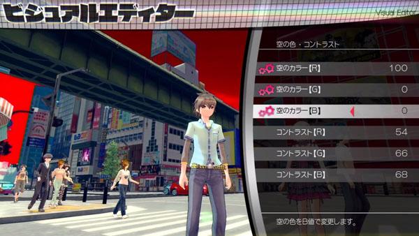 Akibas Trip 2 PlayStation 4 Chibi Mode gameplay - Gematsu
