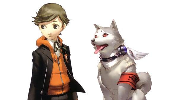 Ken Amada and Koromaru