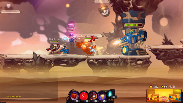 Awesomenauts Assemble is coming to Xbox One, Ronimo Games announced.