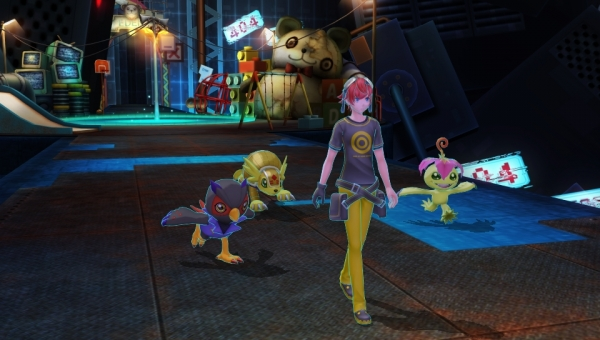 Digimon Story Cyber Sleuth Details And Screenshots