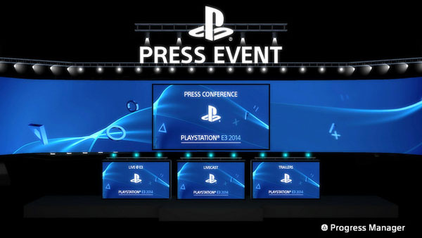 PlayStation 4 E3 2014 App