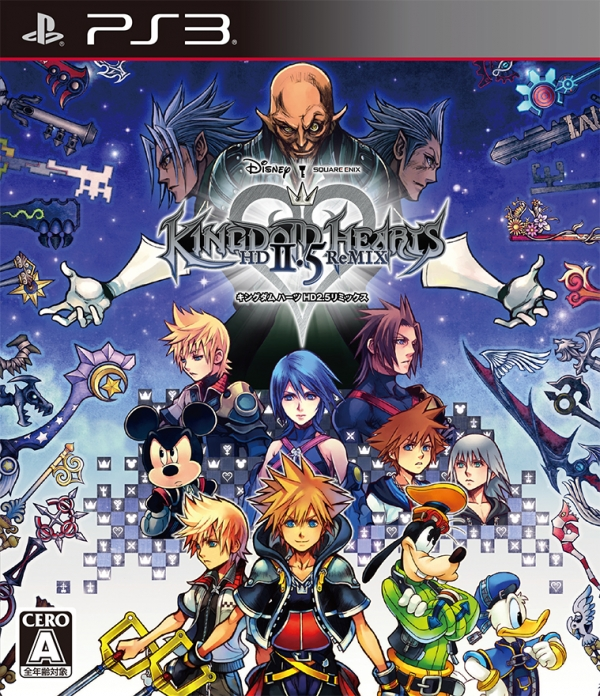 Kingdom Hearts HD 2.5 Remix Japanese box art and limited editions ...