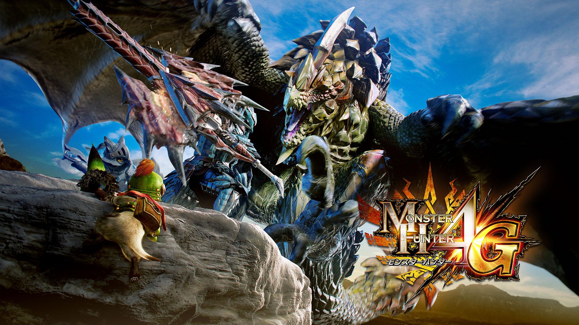 Monster Hunter 4 is Coming