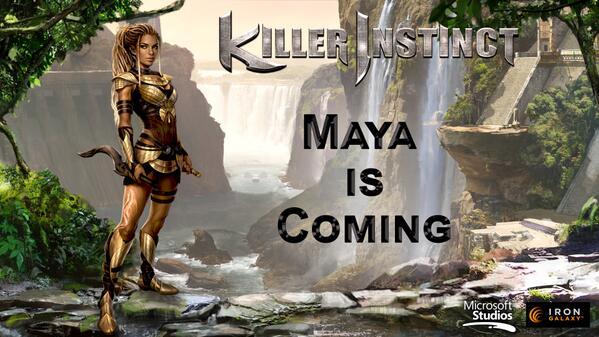 Maya in Killer Instinct