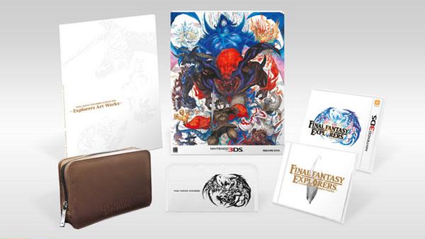Final Fantasy Explorers Ultimate Box