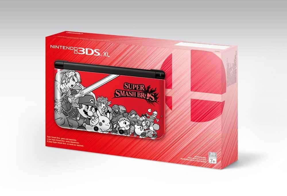 Super Smash Bros., Persona Q, and NES Edition 3DS XL