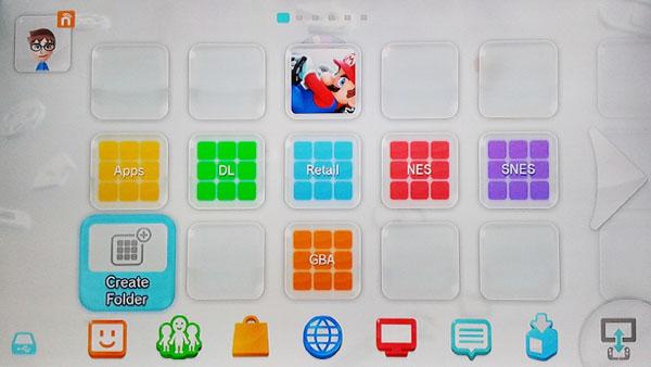Wii U Folders