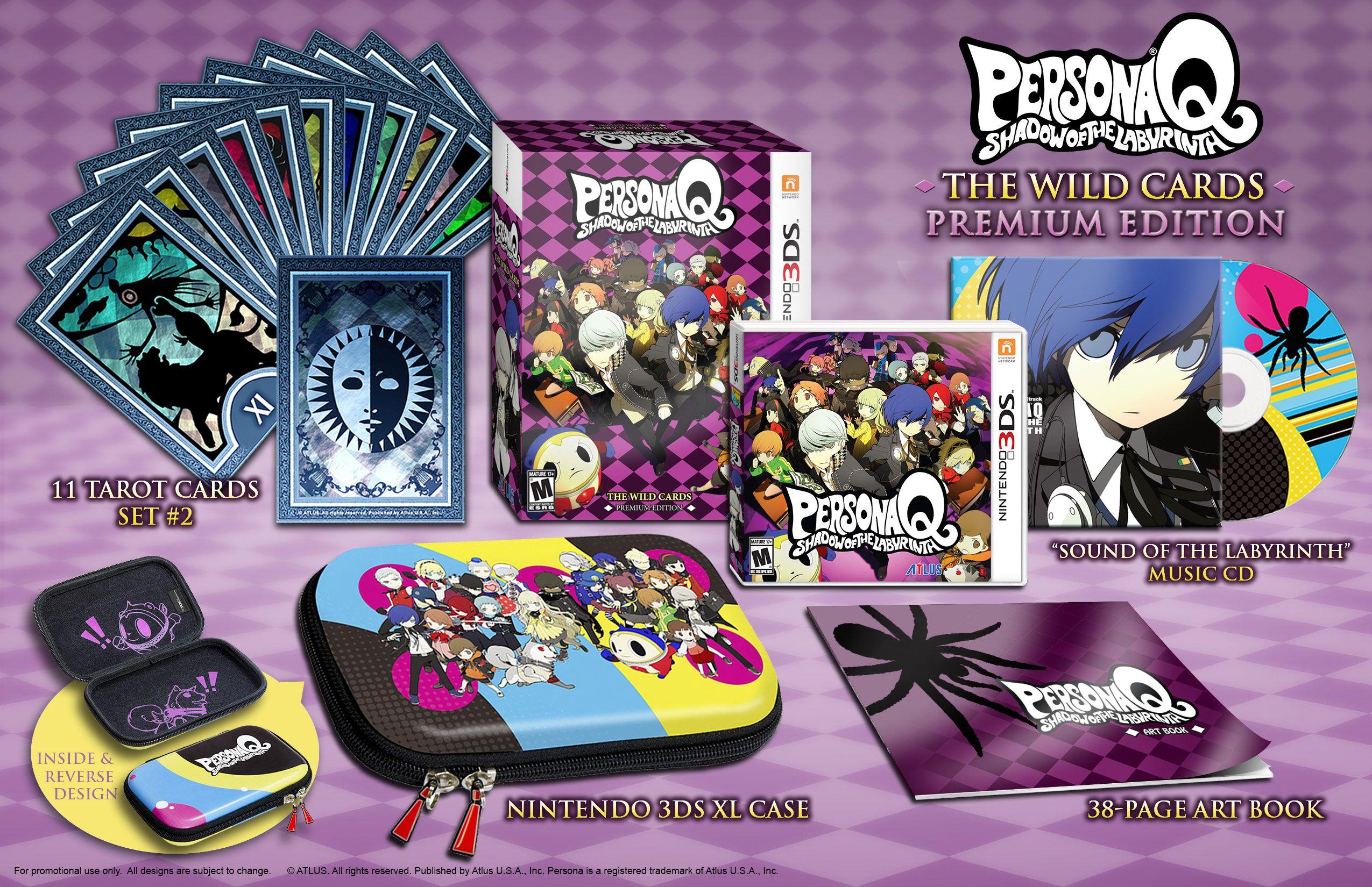Persona Q The Wild Cards Premium Edition