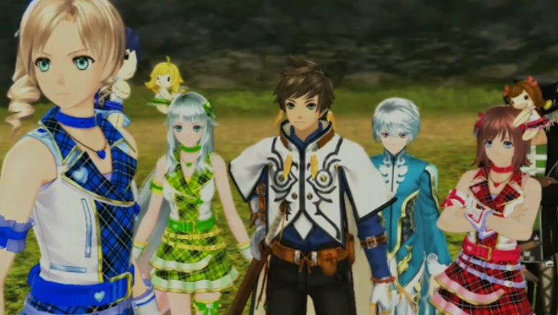 how to change into dlc costume tales of zestiria