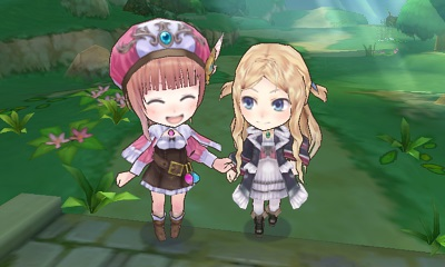 Atelier Rorona Plus: The Alchemist of Arland 3DS