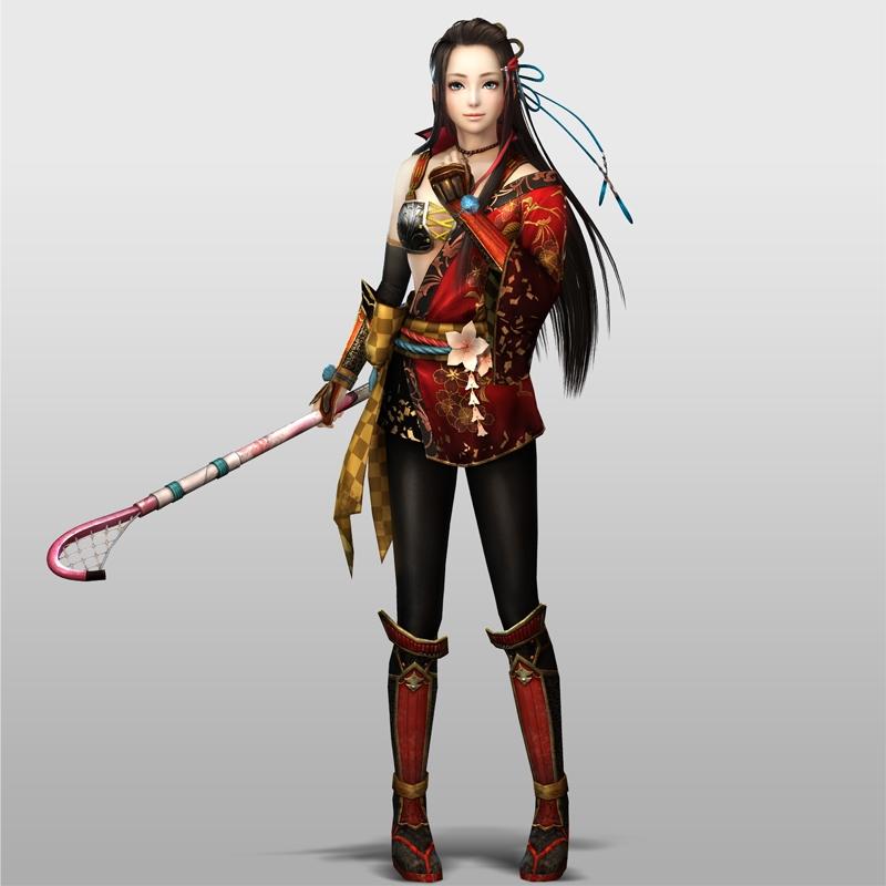 Samurai Warriors 4 - Kai & Lady Hayakawa Gameplay - YouTube