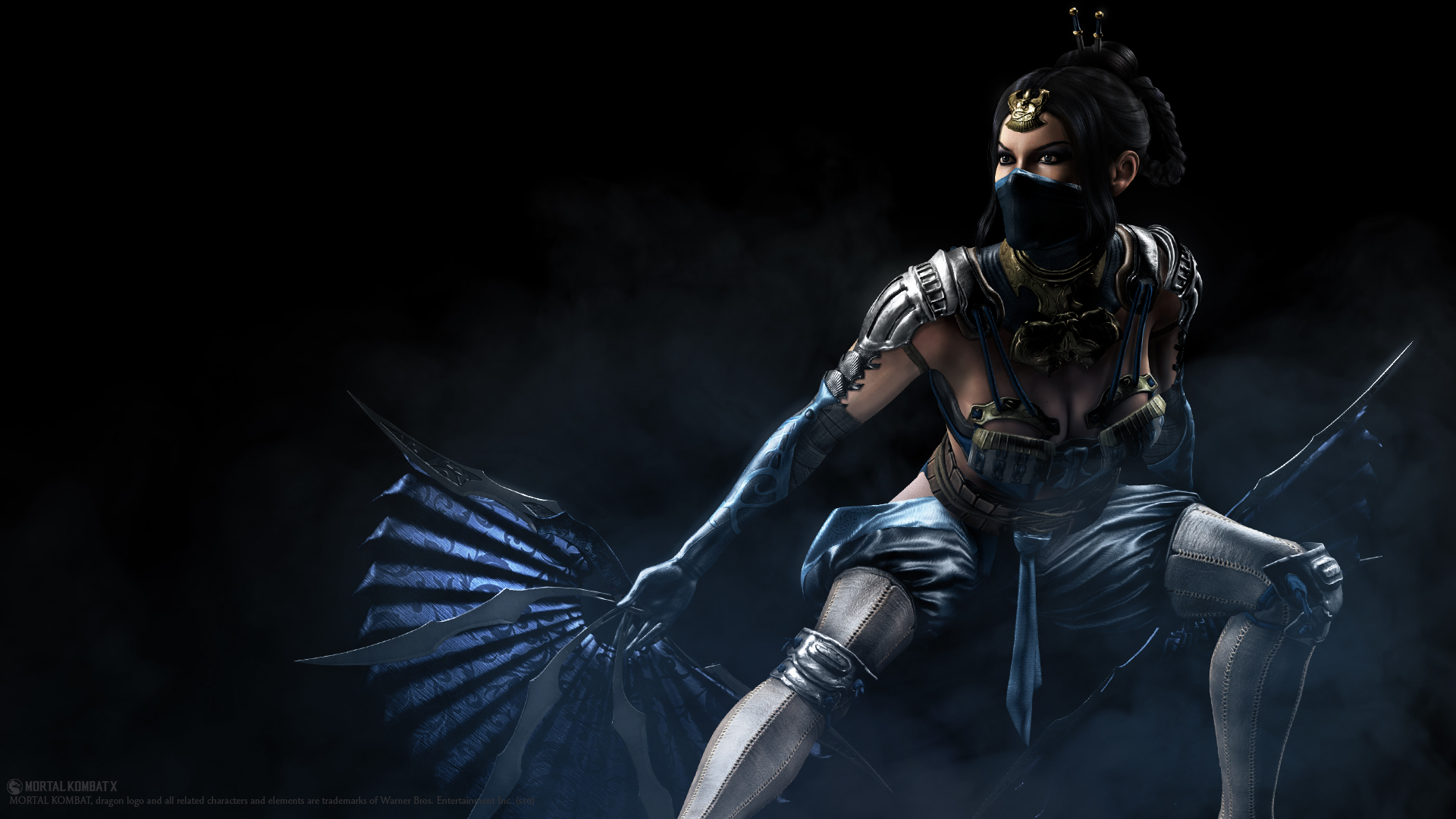 fillet your opponents as the fierce kitana