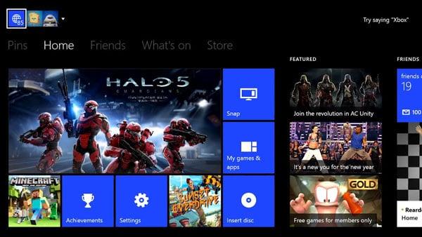 Xbox One February 2015