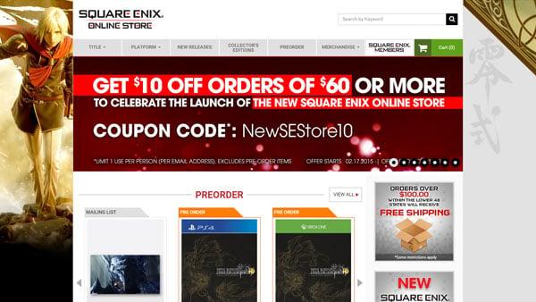 Square Enix Online Store