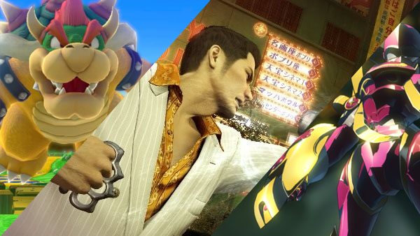 Mario Party 10, Yakuza 0, and Digimon Story: Cyber Sleuth