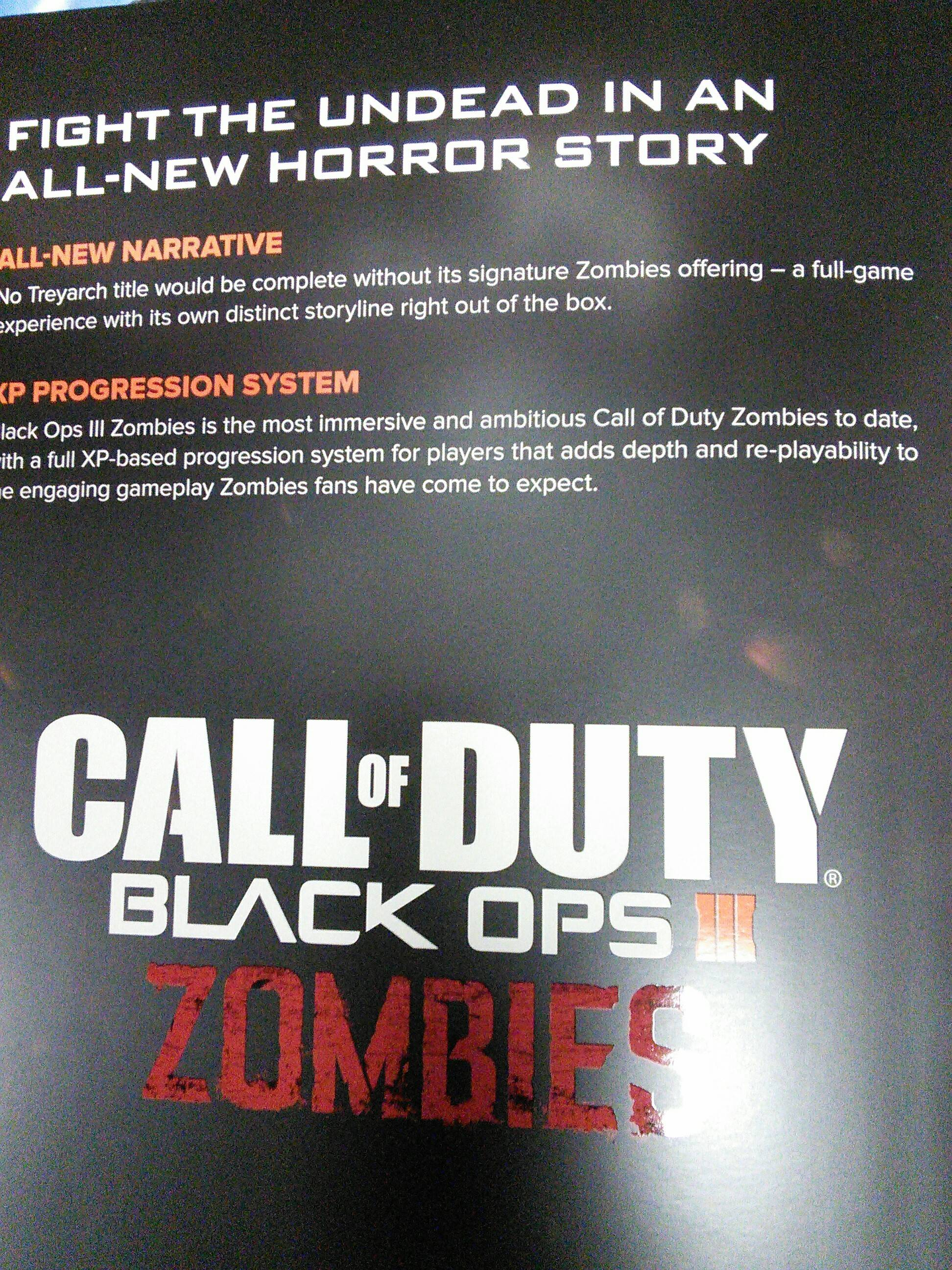 Call of Duty: Black Ops III has four-player co-op campaign