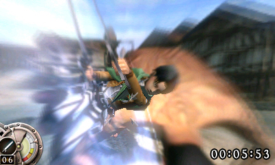 attack on titan game 3ds us