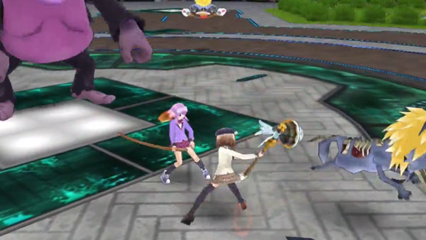 Extreme Dimension Tag Blanc + Neptune VS Zombie Army