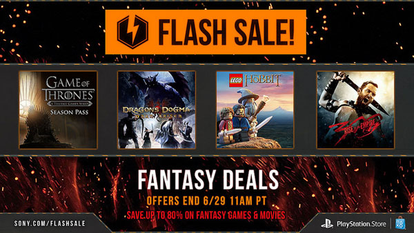 PlayStation Network Flash Sale: Tales of, Sword Art Online ...