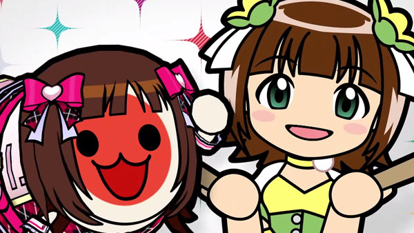 [Game do Mês] - IDOLMASTER  Idolmaster-Taiko_07-18-15