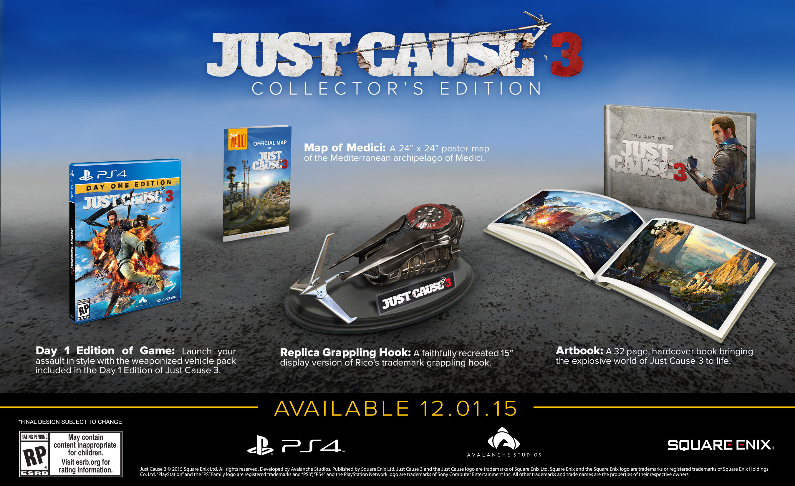 Just cause 3 dev is asking fans to make game's launch trailer vg247.