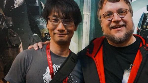 Hideo Kojima and Guillermo del Toro