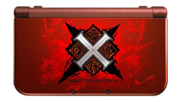 Monster Hunter X New 3DS XL