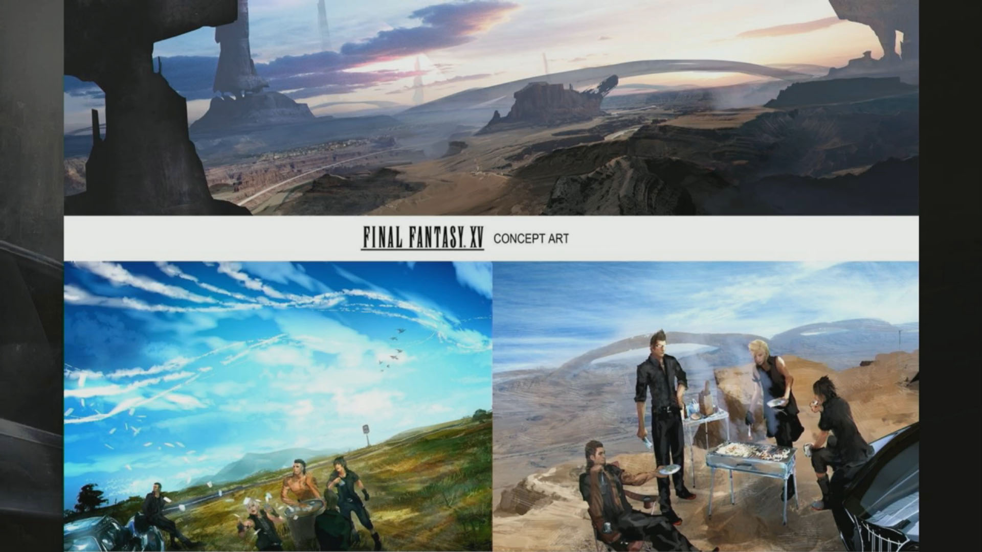Final Fantasy XV Archive Page The SuperHeroHype Forums - 15 fantasy landscapes entirely made from food