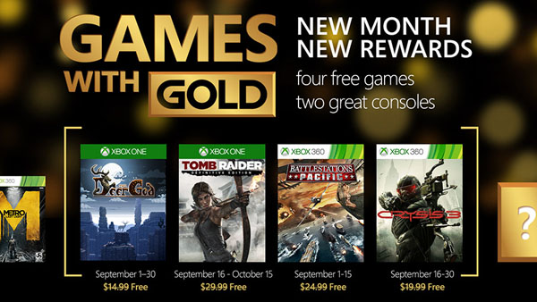 Games with Gold - September 2015