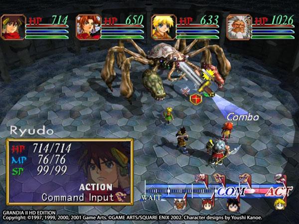 Grandia II HD Edition