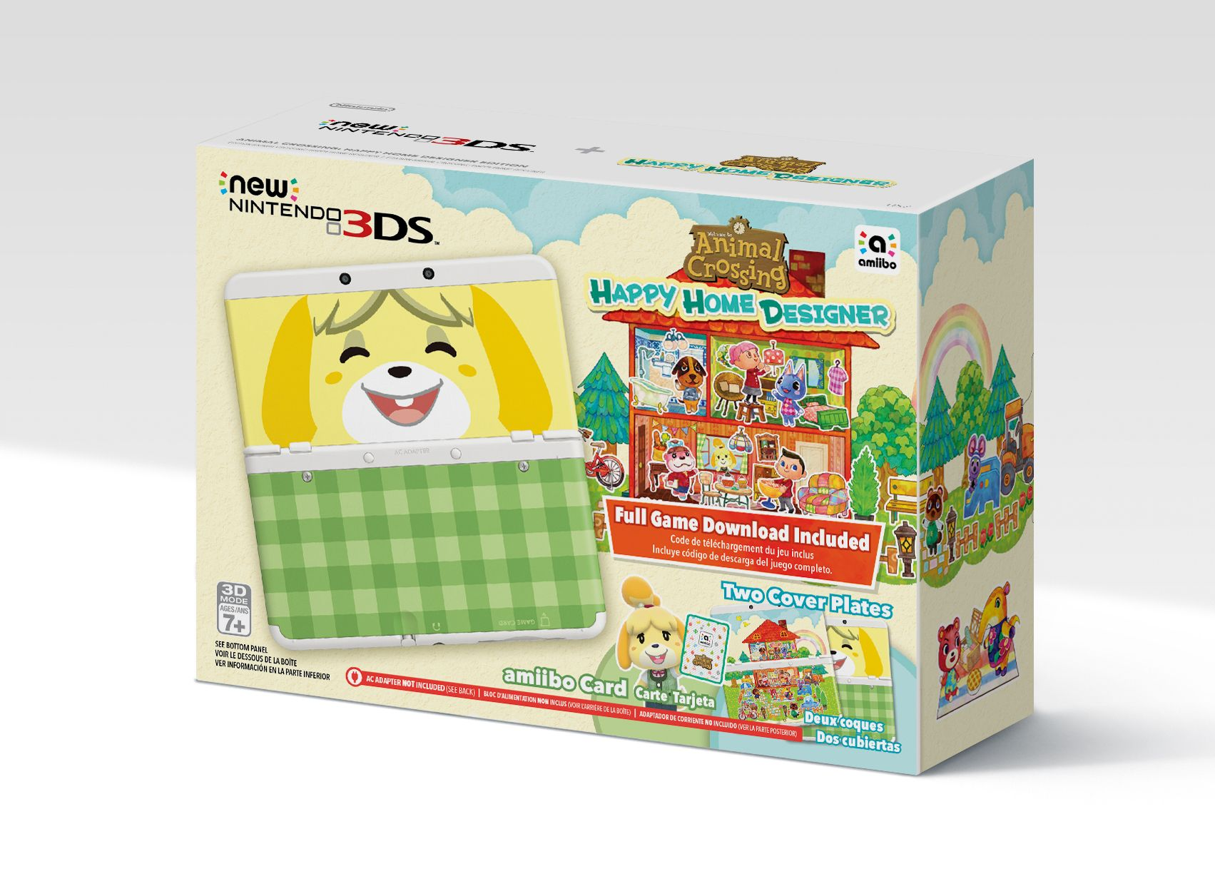Regular new 3ds coming to north america on september 25 - Animal crossing happy home designer bundle ...