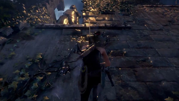 Rise Of The Tomb Raider Gamescom 2015 Alternate Stealth Gameplay