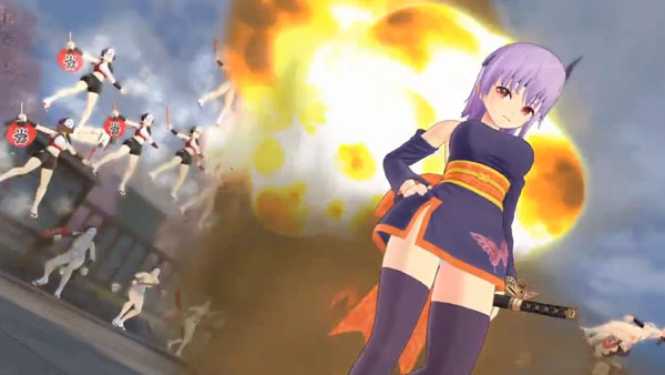 [Anime/Game do Mês] - Senran Kagura 3/3 SKEV-Ayane-Gameplay_08-18-15