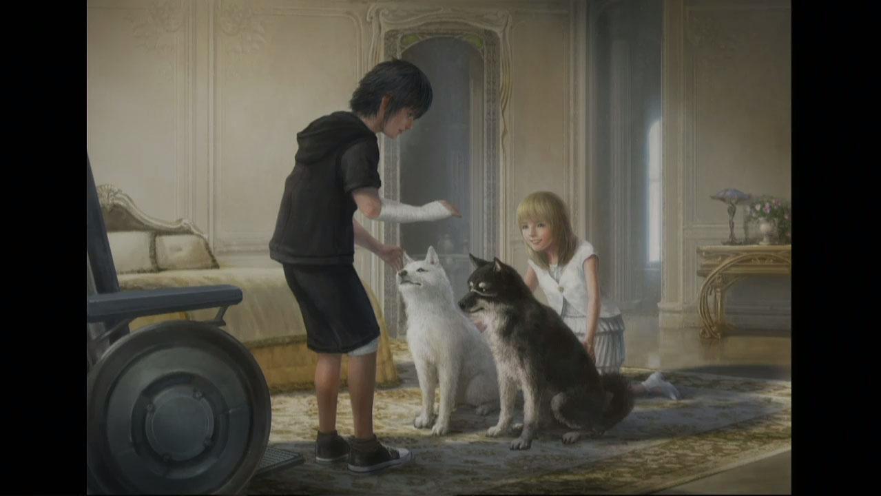 Final Fantasy XV: Chocobo and Fishing gameplay, King Regis ...   1279 x 720 jpeg 105kB