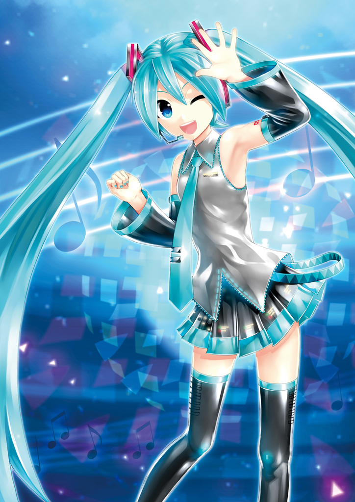 Hatsune miku project diva x for ps vita main visual unveiled gematsu - Hatsune miku project diva ...