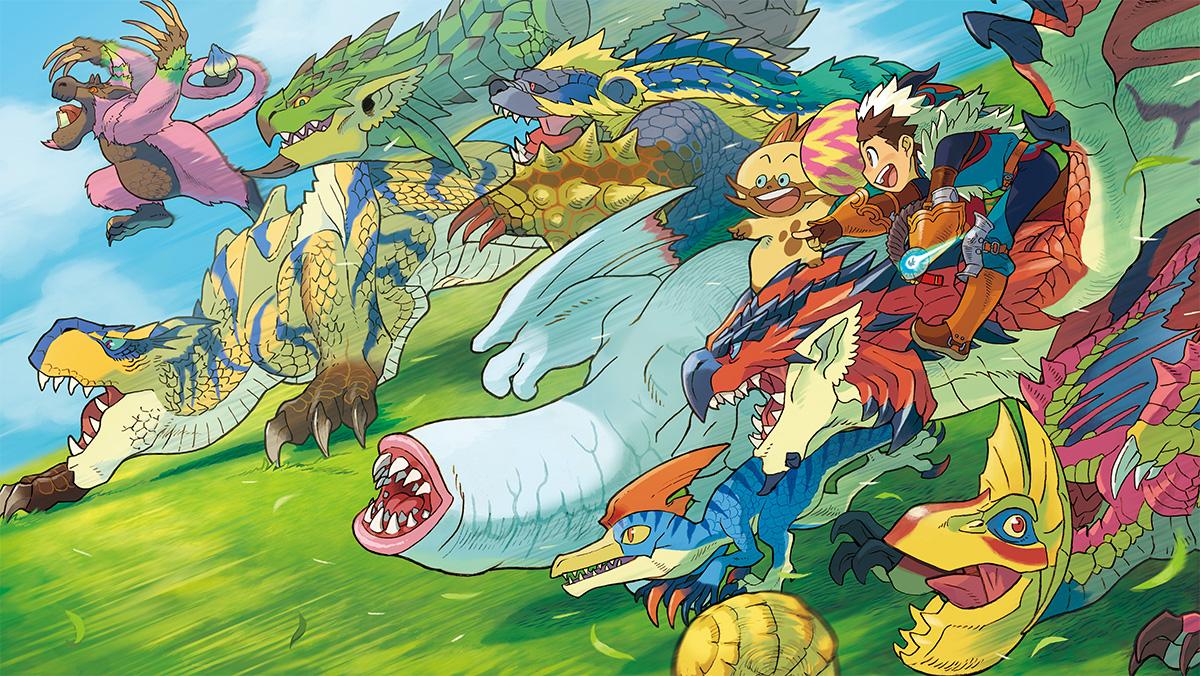 monster hunter stories first details  screenshots gematsu stem clip art royalty free stem clip art word
