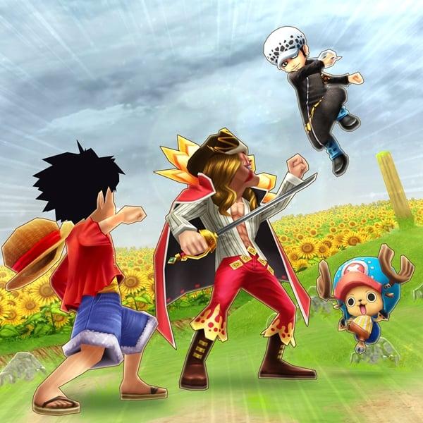 Neues One Piece Smartdevice Spiel: One Piece: Thousand Storm  One-Piece-Thousand-Storm-Smartphone-Ann