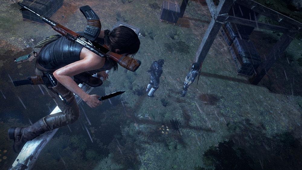[Rise of The Tomb Raiders] 4K สมบูรณ์แบบบน Xbox One X!